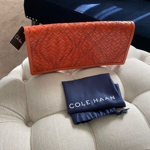 ✨SALE!✨Cole Haan Genevieve NWT! Woven Leather Bag